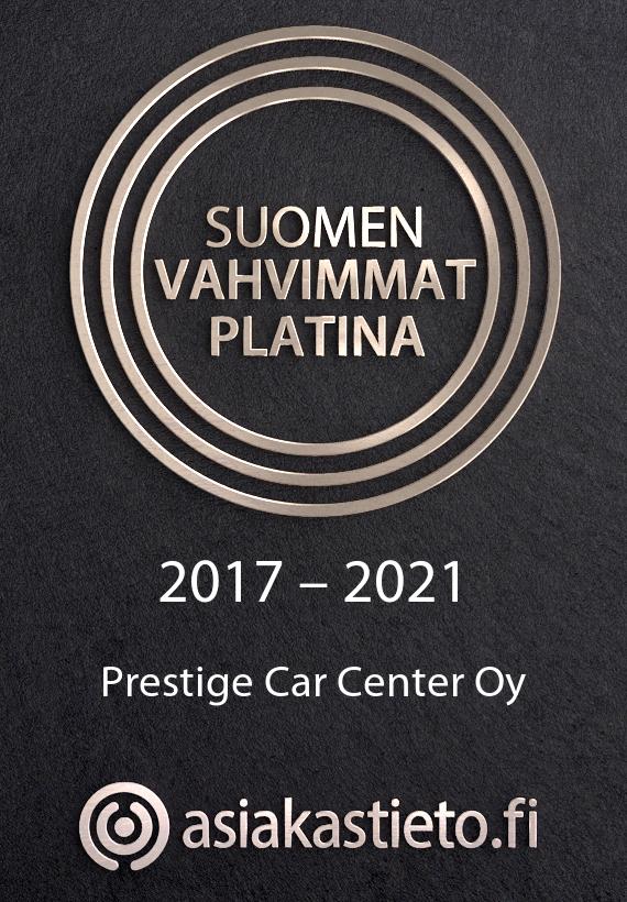 Asiakastieto –Suomen vahvimmat platina 2021